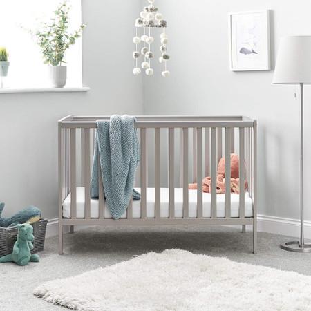 Obaby Bantam Cot - Warm Grey