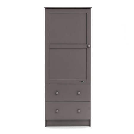 Obaby Single Wardrobe - Taupe Grey