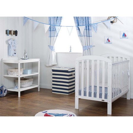 Obaby Lily 2 Piece Room Set - White