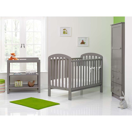Obaby Lily 3 Piece Room Set - Taupe Grey