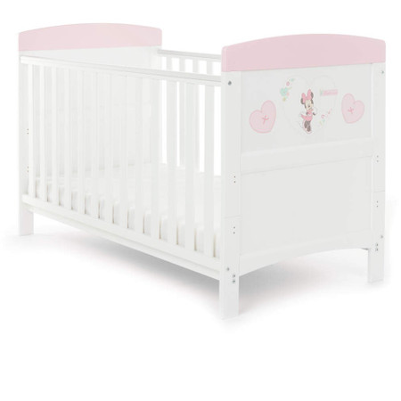 Obaby Minnie Mouse 3 Piece Room Set - Hearts