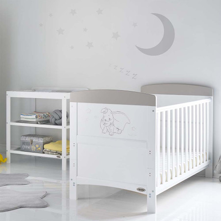 Obaby Disney Inspire Dumbo 2-Piece Room Set - Don't Just Fly