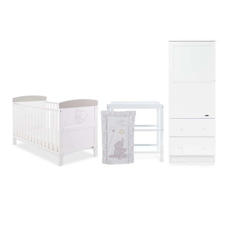 Obaby Disney Inspire Dumbo 3 Piece Room Set - Don't Just Fly