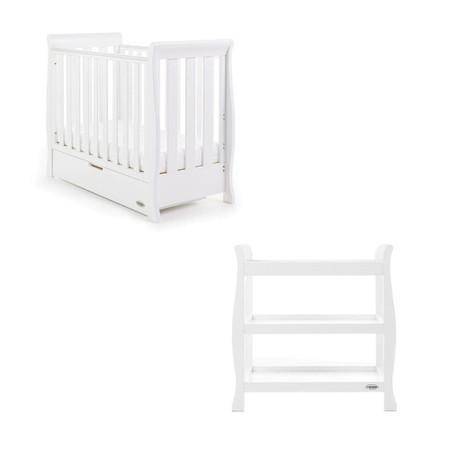 Obaby Stamford Space Saver 2 Piece Room Set - White