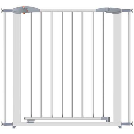 Clippasafe Swing Shut Extendable Gate - White Metal