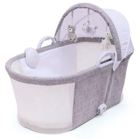 Purflo Breathable Bassinet - Marl Grey