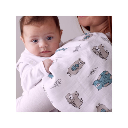 Purflo Muslin Set Extra Large 2pk - Woodland Stories