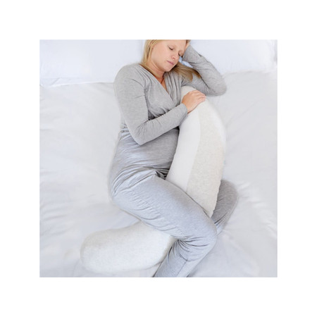 Purflo Breathe Pregnancy Pillow - Minimal Grey