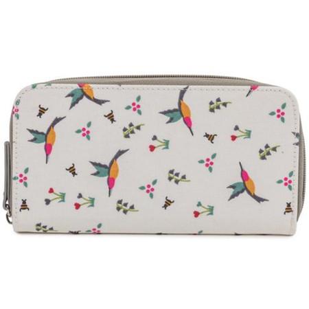 Pink Lining Wallet - Hummingbird