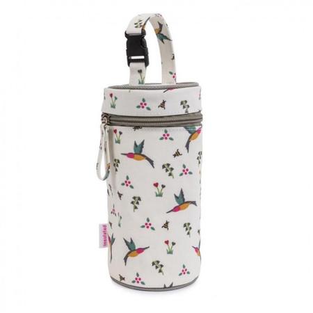 Pink Lining Bottle Holder - Hummingbird