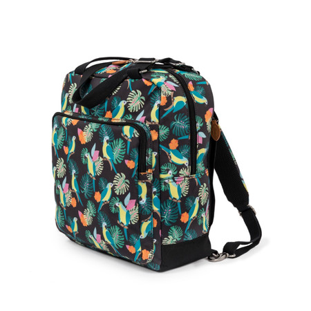 Pink Lining Wonder Bag Backpack - Parrot Black