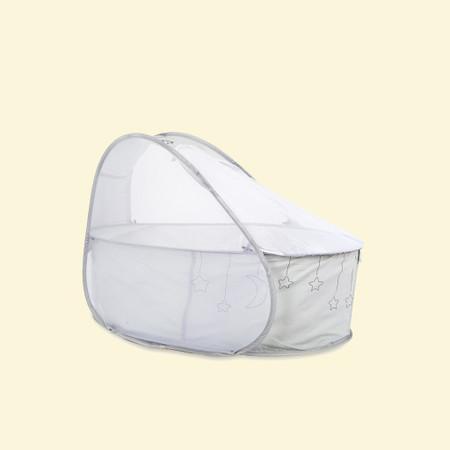 Koo-di Pop-Up Travel Bassinet - Grey