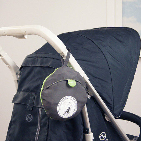 Koo-di Pack-It Sun & Sleep Universal Stroller Cover - Grey