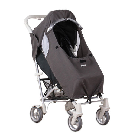 Koo-di Pack-It Keep Me Dry Universal Stroller Rain Cover - Grey