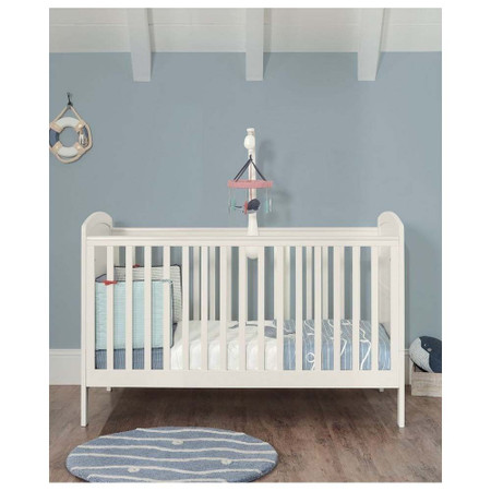 Mamas & Papas Dover Cot Bed - White