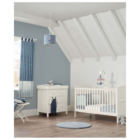 Mamas & Papas Dover 2 Piece Cot Bed Set - White