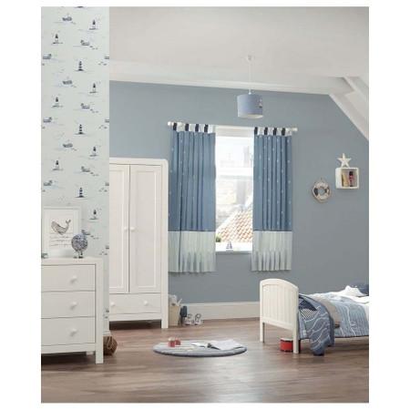 Mamas & Papas Dover 3 Piece Cot Bed Range - White