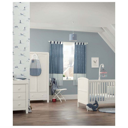 Mamas & Papas Dover 3 Piece Cot Bed Range - White
