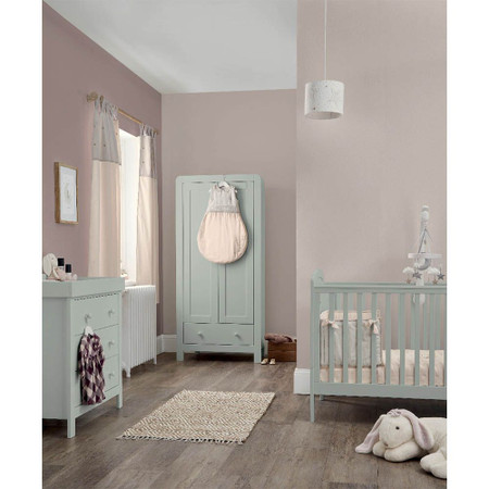 Mamas & Papas Dover 3 Piece Cot Bed Range - Cool Grey