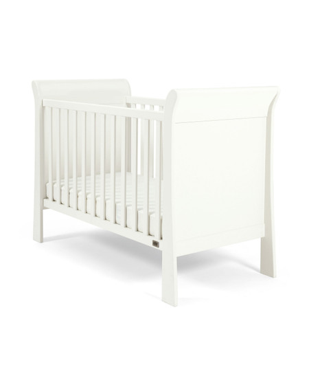 Mamas & Papas Mia Sleigh Cot - White