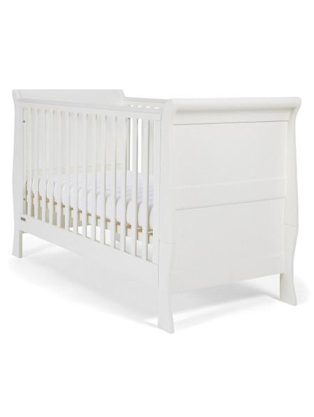 Mamas & Papas Mia Sleigh Cot Bed - White