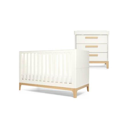 Mamas & Papas Caprio Set - White/Natural