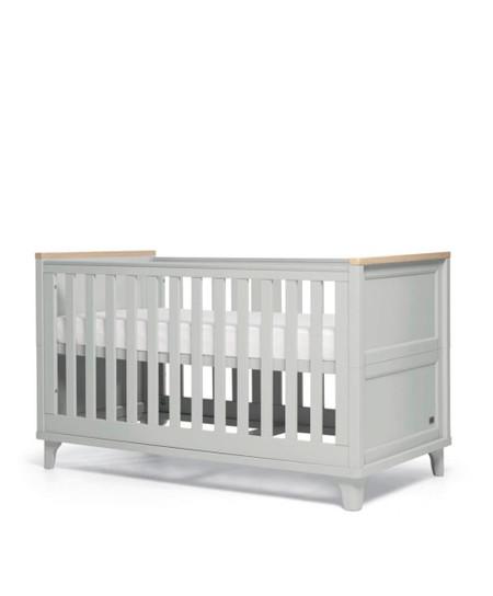 Mamas & Papas Trista Cot Bed - Grey/Oak