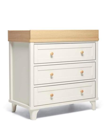 Mamas & Papas Trista Dresser/Changer - White/Oak