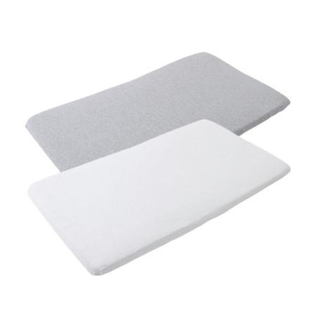 Maxi-Cosi Iris Bedsheets 2 Pack - White/Grey