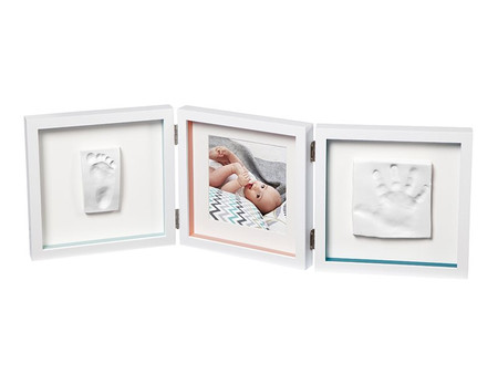 Baby Art My Baby Style Double Print Frame - Essentials