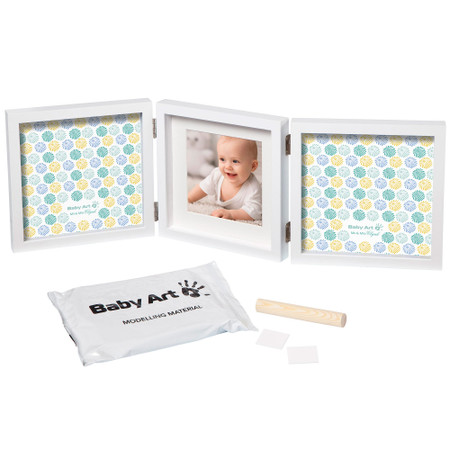 Baby Art My Baby Style Double Print Frame - Mr & Mrs Clynk Limited Edition