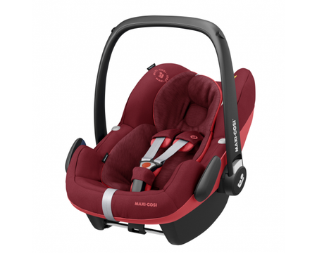 Maxi Cosi Pebble Pro i-Size & Familyfix3 Base - Essential Red