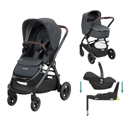 Maxi-Cosi Adorra2 Bundle - Essential Graphite