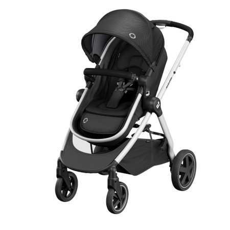 Maxi-Cosi Zelia2 Bundle - Essential Black