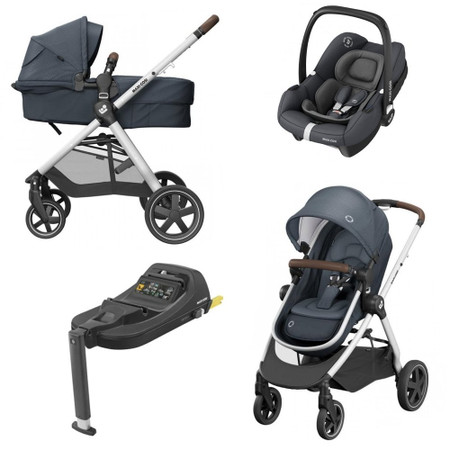 Maxi-Cosi Zelia2 Bundle - Essential Graphite