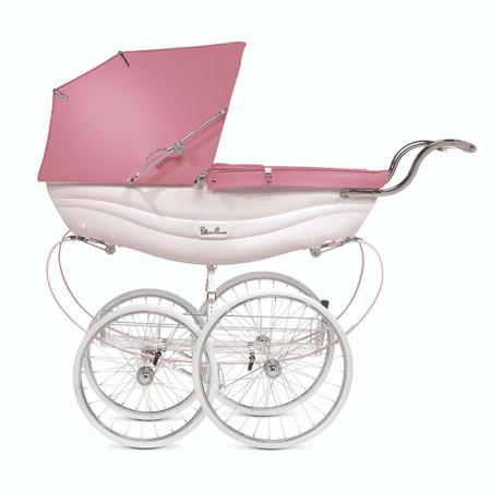 Silver Cross Balmoral Pram - Pink
