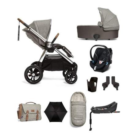 Mamas & Papas Ocarro Complete Kit including Aton 5 Car Seat - Moons Grey
