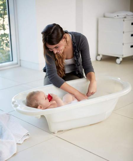 Mamas & Papas Acqua Bambino Two Stage Bath - Pearl White