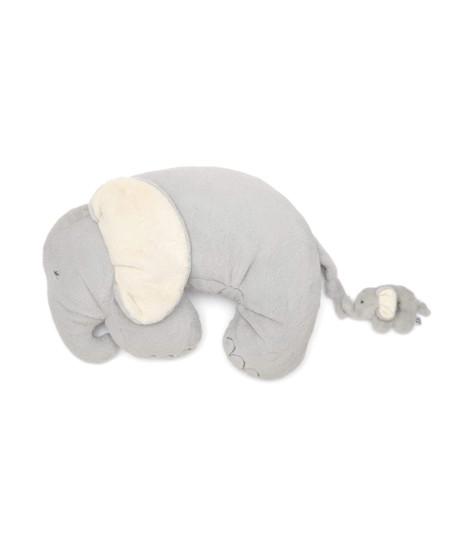 Mamas & Papas Tummy Time Snugglerug - Elephant & Baby