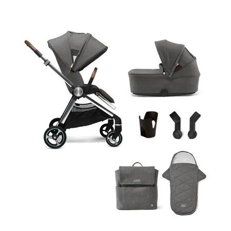 Mamas & Papas Strada 6-Piece Essentials Bundle - Grey Mist