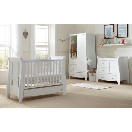 Tutti Bambini Katie Mini 3 Piece Room Set - White
