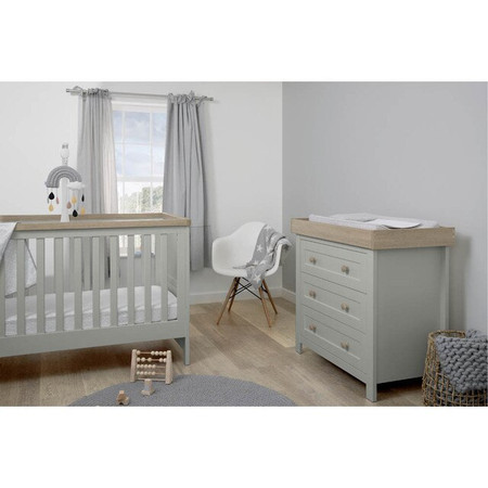 Mamas & Papas Keswick 2-Piece Set - Cool Grey/Oak
