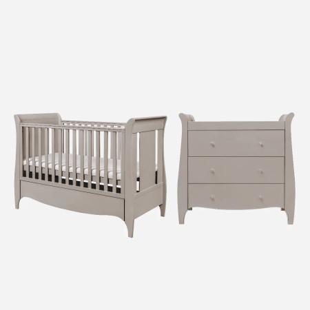 Tutti Bambini Roma 2 Piece Room Set - Truffle Grey