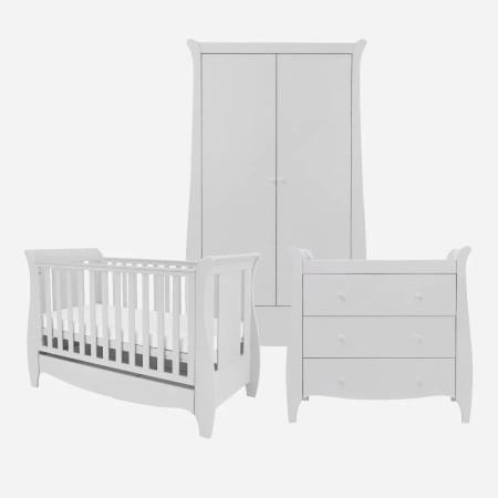 Tutti Bambini Roma Mini 3 Piece Room Set Dove Grey