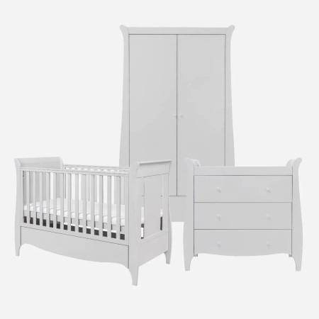 Tutti Bambini Roma 3 Piece Room Set Dove Grey