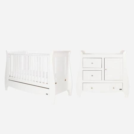 Tutti Bambini Katie Mini 2 Piece Room Set - White