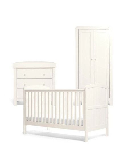 Mamas & Papas Dover Cot Range - White