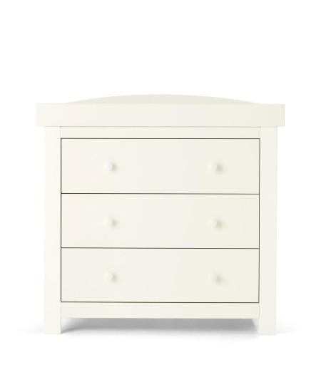 Mamas & Papas Mia Sleigh Dresser Changer - White