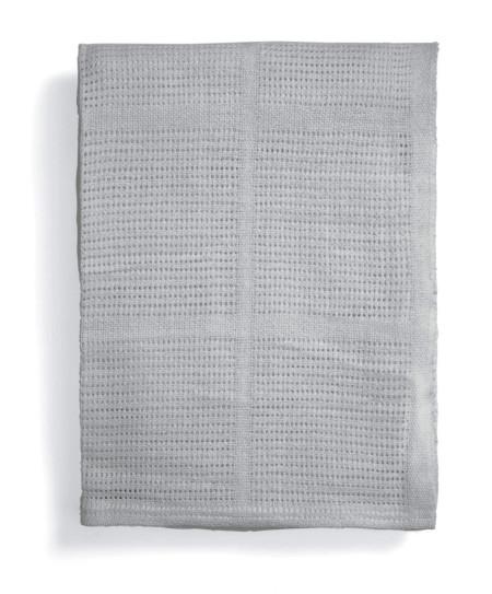 Mamas & Papas Cellular Cot/Bed Cot Blanket- Grey