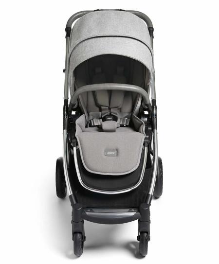 Mamas & Papas Flip XT3 Skyline Grey Essentials Kit (Inc Pushchair, Carrycot, Adaptors, Cupholder, Bag, Footmuff)